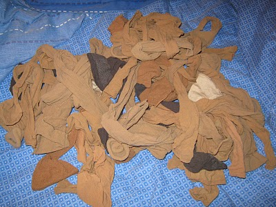 Much used or worn pantyhose porn pics